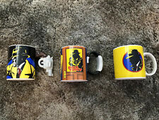 Dick Tracy Coffee Mugs by Applause (New) lot of 3