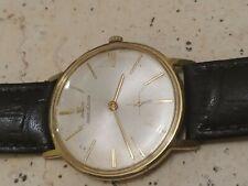 Nice vintage jaeger lecoultre manual movement men wrist watch sub second
