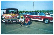 "Vintage Drag Racing-Bill ""MAVERICK"" Golden-Ronnie Sox-1989 Mopars At Englishtown"