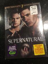 Supernatural: The Complete Seventh Season (DVD, 2012, 6-Disc Set New Sealed