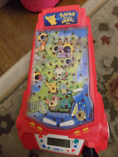 Vtg Pokemon Thundershock Pinball Challenge Arcade Game WORKS Nintendo Light up