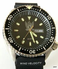 idf israeli wrist watch air force pilot army combat diving defense force date