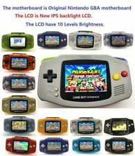 Nintendo Game Boy Advance GBA System 101 Brighter Backlit IPS LCD MOD CUSTOM!