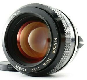Quasi Mint Nikon Non Ai Nikkor 55mm F/1.2 Standard Lenti Per Nikon F Da Giappone
