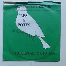 LES 4 POTES Le passeport de la vie LICRA AT100