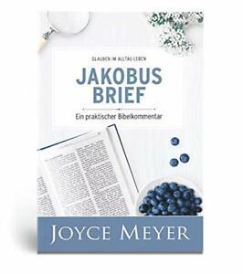 Joyce Meyer- Jakobusbrief Portofrei/Blitzversand wertvolles Bibelstudium