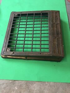 YJ 202 Antique sheet metal Floor To Wall Heating Grate/Cold Air Return