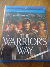 BLU-RAY + DVD * THE WARRIOR'S WAY * WESTERN SABRE RUSH BOSWORTH HUSTON bluray