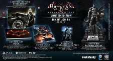 Batman: Arkham Knight, Limited Edition inkl. Batman Figur, PS4, NEU & OVP