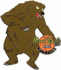 Hard Rock Cafe MEMPHIS Grizzly Bear Basketball Logo PIN - HRC Catalog #10698