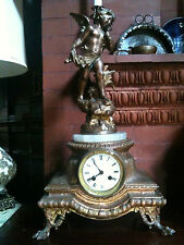 VINTAGE AND COLLECTABLE AUG.MOREAU CLOCK FROM FRANCE 1800'S. Value $3000.00