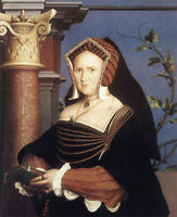 Art Oil painting Holbein Hans - Noblelady Portrait of Lady Mary Guildford