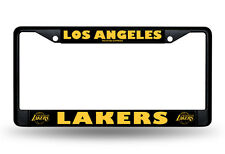 Los Angeles Lakers Black Metal License Frame [NEW] NBA Car Plate Auto Tag CDG