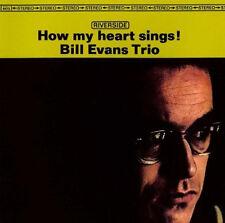 BILL EVANS TRIO How My Heart Sings! LP NEW Chuck Israels Paul Motian Riverside