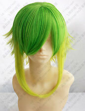 Cosplay wigs COS Vocaloid gumi New Long Costume Green Gradient Wig +WIG CAP
