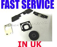 5 in 1 Ipad 3 Ipad 4 Internal + Outside Home Button Keypad Keyboard Set Black UK