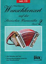 Steirische Harmonika Noten : Wunschkonzert a.d. Steirischen 2 m. CD GRIFFSCHRIFT