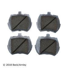 Beck/Arnley 085-0290 Front Premium Brake Pads