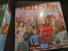 Ticket to Ride, Asia, Erweiterung Zug um Zug (Spiel des Jahres), OVP, mehrsprach