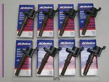 New A/C Delco SET of EIGHT  Ignition Coils 19334346/DG521 for Ford Applications