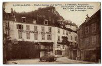 CPA 39 Jura Salins-les-Bains Hôtel du Sauvage et de la Poste