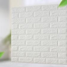 10pcs 3D Grande Macio Telha Tijolo Adesivo De Parede Auto-adesiva Impermeável Painel de espuma