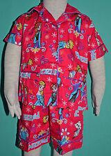 NEW Girl Frozen Elsa Anna Summer Cotton Pyjamas pjs Size 2,3,4,5,6,8
