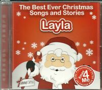 LAYLA - THE BEST EVER CHRISTMAS SONGS & STORIES PERSONALISED CD