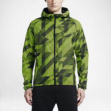 f015d74ebad6 NIKE RU Fly Windrunner Running Hooded Jacket 687563 Volt Green Black Men s  XXL