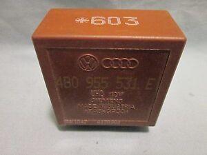 Intermittent Wiper Relay # 603 VW Golf Jetta GTI Audi A4 S4 A6 TT 4B0 955 531 E