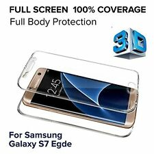 Samsung Galaxy S7 Edge High Impact Screen Protector Easy Fit Full Front and Back