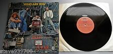 The Who - Who Are You UK 1978 Polydor LP Laminated Cover