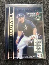 2000 MLB Showdown JEFF BAGWELL FOIL #187
