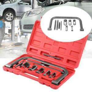 10Pcs Car Motorcycle Engines Valve Spring Compressor Kit Removal Installer Tool