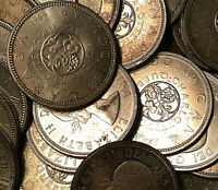 1964 CANADA SILVER DOLLAR COIN