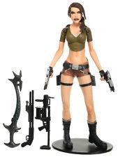 "Tomb Raider Stage 1 LARA CROFT 7"" Action Figure Player Select NECA 2006"