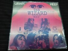 "URIAH HEEP -THE WIZARD- SPANISH  7"" VERY RARE COVER HEAVY METAL"