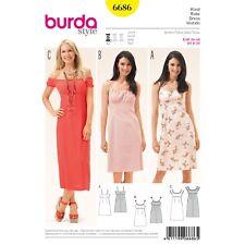Burda Easy SEWING PATTERN 6686 Misses Dress Sizes 8-20