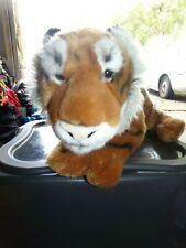 "FAO Schwarz Plush Tiger Stuffed Animal 20"" Large. Tiger King."