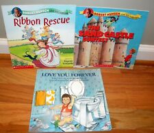 Lot 3 Robert Munsch ~Love You Forever ~ Ribbon Rescue ~Sandcastle Contest  L299