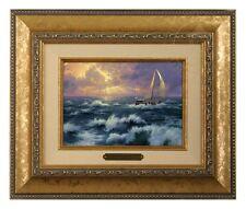 Thomas Kinkade Perseverance - Brushwork (Gold Frame)