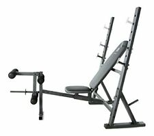 Weider XR 10.1 Adjustable Olympic Weight Bench with Leg Developer + Storage+Rack