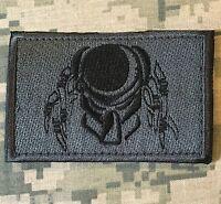 PREDATOR FACE USA ARMY MORALE ACU DARK VELCRO® BRAND FASTENER BADGE PATCH