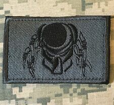 PREDATOR FACE USA ARMY MORALE ACU DARK VELCRO® BRAND FASTENER BADGE PATCH