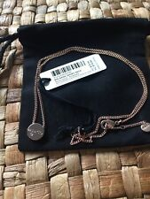 Mimco Big Bang SHORT NECK Chain Necklace ROSE GOLD BNWT RRP $79.95