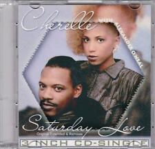 Cherelle With Alexander O'Neal – Saturday Love/ Rare France 3 inch CD-Single