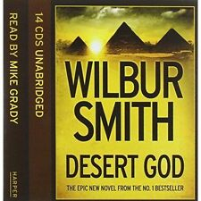 Desert God by Wilbur Smith [CD-Audio, 2014] - [BRAND NEW ***** COMPANY SEALED]