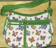 GAL NEW Multi Color Butterfly Handbag w/ Small Pouch