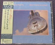 """DIRE STRAITS """"BROTHERS IN ARMS"""" JAPAN SHM-SACD JEWEL CASE 2016 *SEALED*"""
