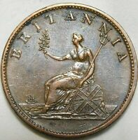 1807 Great Britain Half Penny George III  A40-883